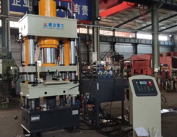 200吨硫化锌粉末成型油压机
