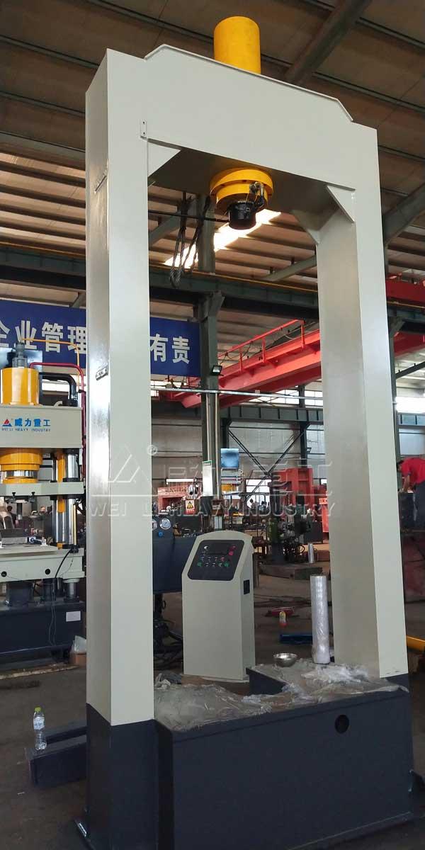 龙门框架式电机压装液压机