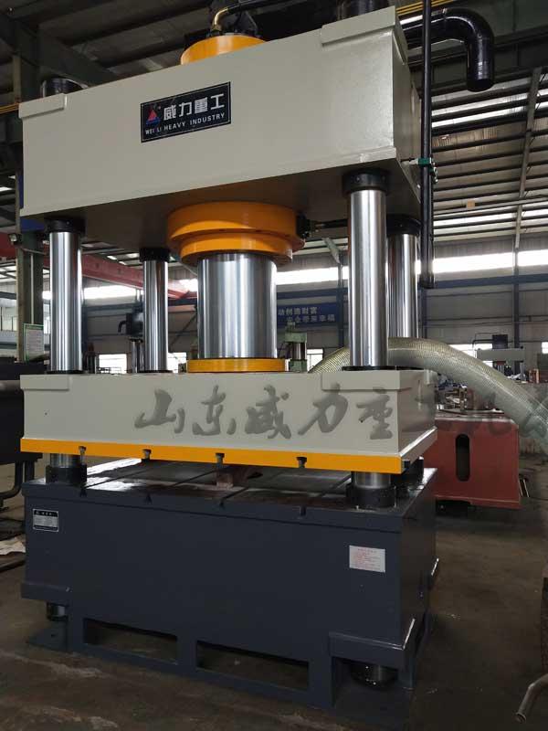 500吨复合漏粪板成型液压机