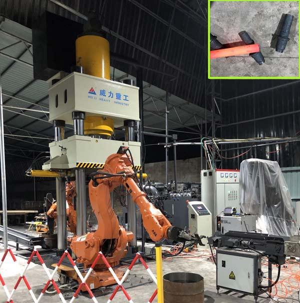 1500吨多工位热锻成型压力机