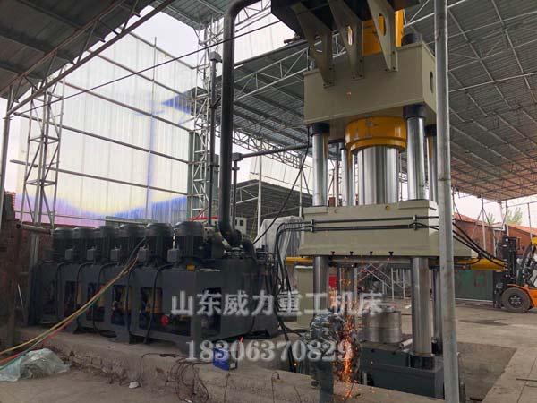 1500吨热锻成型液压机