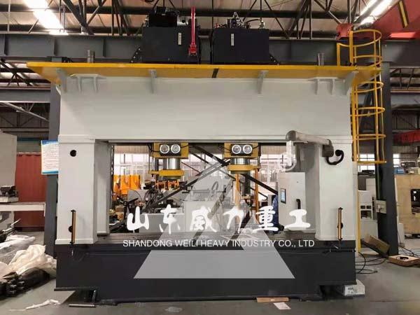 160吨全自动汽车车桥校直整形液压机